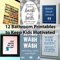 great bathroom ideas Printable Bathroom Decor for Kids steel bathtub and antique dental cabinet in white brick bathroom chair bathrooms