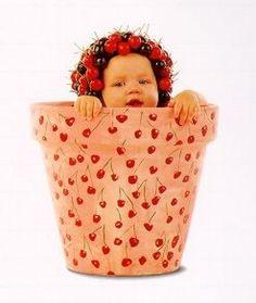 Anne Geddes Galleries   Baby Pots