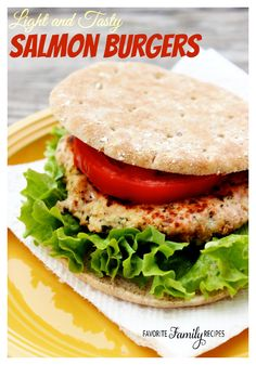 This Salmon Burger is delicious - and it's good for you!
