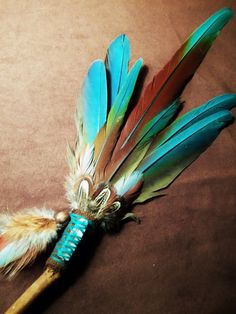 Smudging Feather Fans | Smudge Fan- One Hart- Sacred Smudge Fan with RARE Pheasant Feather ...