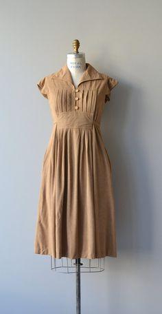 Cul de Sac dress vintage 1970s veloul dress 70s by DearGolden