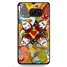 The Beatesl In Art TATUM-10661 Samsung Phonecase Cover For Samsung Galaxy Note 7
