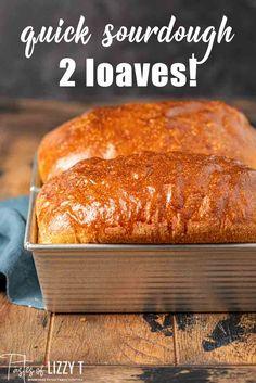Sourdough Sandwich Bread Recipe, Easy Sourdough Bread Recipe, Sourdough Starter Discard Recipe, Sandwich Bread Recipes, Bread Starter, Artisan Bread Recipes, Yeast Bread Recipes, Cooking Bread, Cooking Recipes