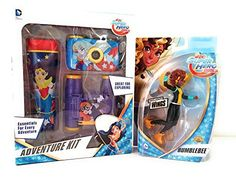 """DC Super Hero Girls Doll and Adventure Kit BUMBLEBEE 6"""" D..."""