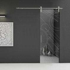 porte vetro cristallo extrachiaro su sistema scrigno essential ... - Disegni Porte Vetro Satinato