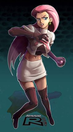 Team Rocket - Jessie by ~Quasimanga on deviantART