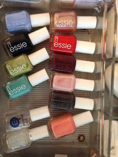 ESSIE,  the best polish, no base or top coat needed!