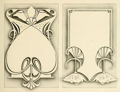 art deco frame | Borders and Frames | Pinterest | Art Nouveau ...