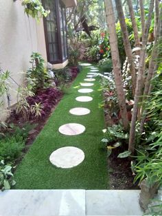 Artificial grass products are available for all garden solutions. Namgrass artifical grass is active in over 25 countries worldwide. Garden Solutions, Stepping Stones, Grass, India, Outdoor Decor, Delhi India, Grasses, Herb, Indian
