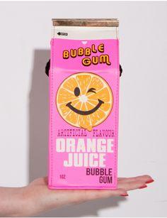 Skinnydip orange Juice Crossbody Bag