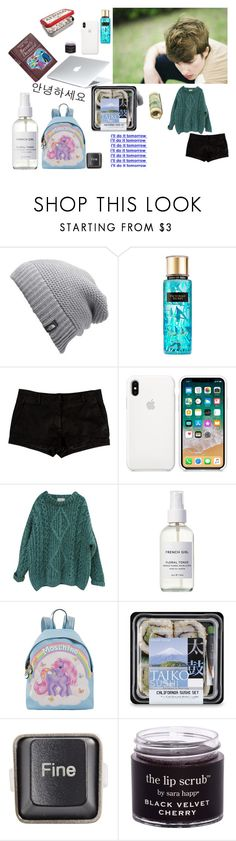 """""""so ive had no one talk to me....-Rex"""" by grxnge-kids ❤ liked on Polyvore featuring INDIE HAIR, The North Face, Victoria's Secret, L'Agence, Essentiel, French Girl, Moschino and RecycRing"""