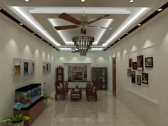 2. Modern False Ceiling Patterns Are Very Preferable. False Ceiling  DesignLiving Room ...