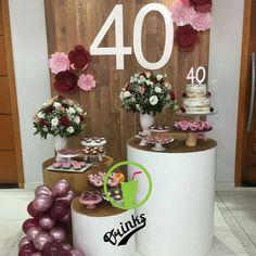 super ideas for birthday table diy decoration 40th Bday Ideas, Birthday Table Decorations, 40th Birthday Parties, Birthday Dinners, 70th Birthday, Birthday Balloons, Birthday Celebration, Parties Decorations, Birthday Ideas