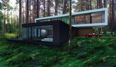 house-in-the-woods-by-alexanderzhidkov-01 - MyHouseIdea