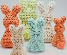 Mesmerizing Crochet an Amigurumi Rabbit Ideas. Lovely Crochet an Amigurumi Rabbit Ideas. Easter Bunny Crochet Pattern, Cute Crochet, Crochet Crafts, Crochet Projects, Simple Crochet, Amigurumi Free, Crochet Amigurumi, Crochet Dolls, Amigurumi Doll