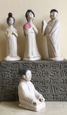 #chinese #statues #gres