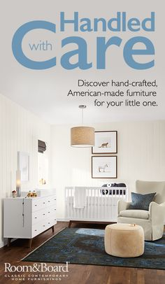 Did you know all of our cribs are American-made and undergo independent testing to meet or exceed safety regulations? We're proud to bring you exclusive modern cribs and nursery furniture designed to keep your baby safe.