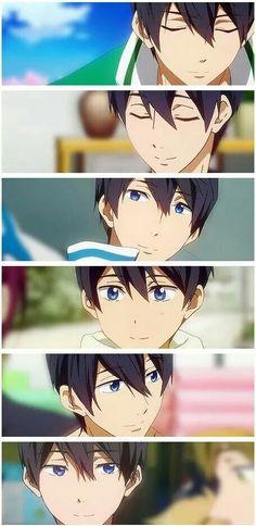 Haru!, también sonríes, tienes de esas sonrisas que se ven poco..pero son muy significativas~.