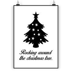 Poster DIN A3 Weihnachtsbaum aus Papier 160 Gramm  weiß - Das Original von Mr. & Mrs. Panda.  Jedes wunderschöne Poster aus dem Hause Mr. & Mrs. Panda ist mit Liebe handgezeichnet und entworfen. Wir liefern es sicher und schnell im Format DIN A3 zu dir nach Hause.    Über unser Motiv Weihnachtsbaum  Ein Weihnachtsfest ohne einen schön geschmückten Baum ist undenkbar. Er ist ein Symbol für Kindheitsträume, schöne Erinnerungen an familiäre Abende und Lichterglanz & Geschenkezauber…
