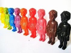 These sweet plastic dollies, known as Clonette dolls, or baby DeiDei dolls, are a significant part of African history and have become quite the collector's item! Modeled after colorful traditional woo