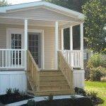 Pics of Single Wide Mobile Home Porch