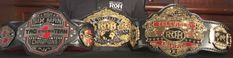 New ROH Six Man Tag Team, Television And World Tag Team Championship Belts