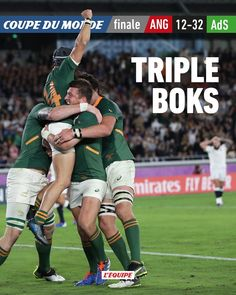#rugby #rwc2019 #final #southafrica #england Rugby, World Cup, Finals, South Africa, England, Baseball Cards, Sports, Hs Sports, World Cup Fixtures
