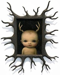 Mark Ryden  I would love to have my kids baby pictures done in this style