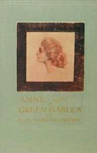 Anne of Green Gables by L.M. Montgomery original cover 1908