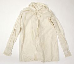 Shirt, 1815-25, Brittish