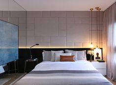 Bedroom Apartment, Home Decor Bedroom, Dream Bedroom, Master Bedroom, Couple Bedroom, Suites, Headboards For Beds, Contemporary Bedroom, Luxurious Bedrooms
