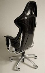 Ferrari Challenge Leather Race Chair