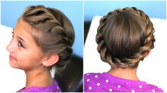 Crown Twist | Cute Updos and more Hairstyles from CuteGirlsHairstyles.com