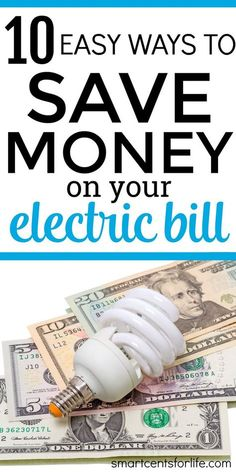 Are you looking to save money on your utility bills? These 10 tips on how to save money on electricity will help you to reach that goal! I use these tips and they really helped me to lower my electric bill and save more money.