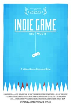 Indie Game. A documentary about the insides of video-game development.     http://www.indiegamethemovie.com