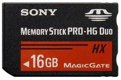 New 16g 16gb Memory Stick Pro-hg Duo Hx Ms Magic Gate Card for Sony PSP Camera