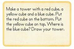 Position-problems-  from Kindergarten Kindergarten