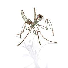 Ragtime Wire Praying Mantis Sculpture (Set of 6)