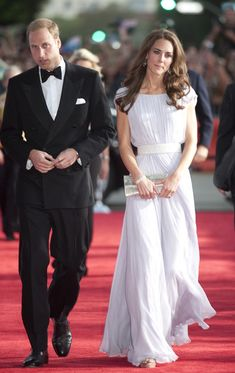 Catherine, Duchess of Cambridge and Prince William, Duke of Cambridge arrive at the 2011 BAFTA Brits To Watch Event at the Belasco Theatre on July 9, 2011 in Los Angeles, California.