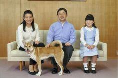 Princess Masako, Prince Naruhito and their daughter Princess Aiko of Japan