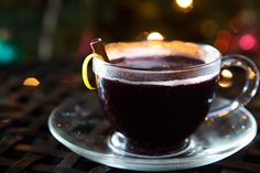 Honey Mulled Wine Recipe Beverages with zinfandel, water, honey, black peppercorns, cinnamon sticks, lemon zest