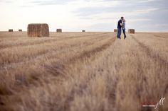 love in a wheat field
