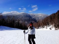 Skiing at Stowe in Vermont one of my Best scenery experiences