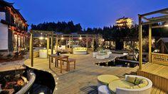 丽江古城的花间堂问云山庄,是花间堂旗下最好的一家度假酒店