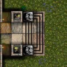 Dundjinni Mapping Software - Forums: Mansion House Tiles - lots of them! Dungeon Tiles, Dungeon Maps, Dungeons And Dragons Homebrew, D&d Dungeons And Dragons, Rpg Map, Adventure Map, Medieval, House Tiles, Fantasy Map