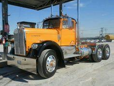 Vintage Trucks, Old Trucks, Vintage Auto, Kenworth Trucks, Peterbilt, Rv Truck, Large Truck, Road Train, Dump A Day
