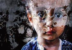 Night #girl #child #face #portrait #xocolate7 #appwhisperer #blend #rijksmuseum #icolorama...