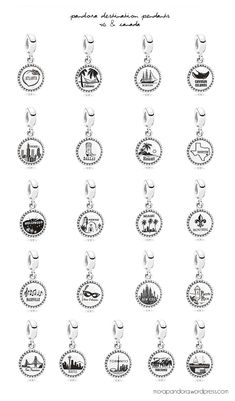 Pandora Destination Collection 2014