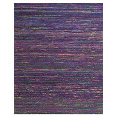 Nature... glass She Shed... purple rug