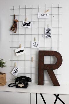 Via Inspiration & Design  | Home Office | White | Kay Bojesen Monkey | Letter R